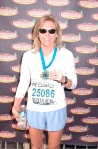 Laura completes her third Rock and Roll Phoenix Marathon!